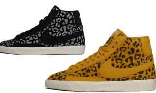 Nike Blazer Mid Leopard Print Pack Holiday 2012