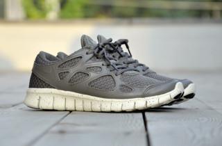 nike free run+2 woven leather tz