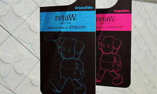 Original Fake x retaW Fragrance Room Tags