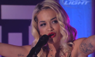 "Video: Rita Ora Performs ""Shine Ya Light"" on Jimmy Kimmel Live"