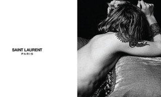 Here's Hedi Slimane's First Ad for Saint Laurent Paris