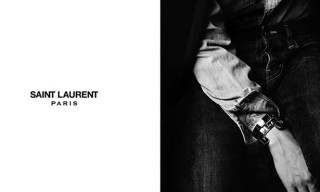 Hedi Slimane's First Campaign for Saint Laurent Paris – 2/15