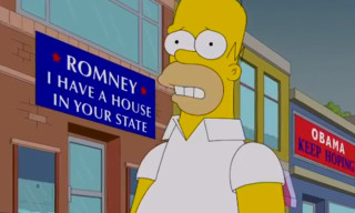 Video: The Simpsons – Homer Votes 2012
