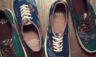 "Vans California ""Birds"" Authentic CA Pack Fall/Winter 2012"