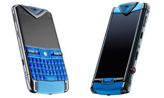 Italia Indepedent x Vertu 'Constellation Blue' Smartphones