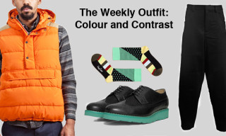 The Weekly Outfit: Colour and Contrast