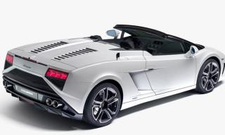 Lamborghini Unveils Refreshed 2013 Gallardo Spyder Range