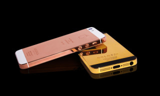 Gold & Co. Introduces 24 Karat Gold & Rose Gold iPhone 5's