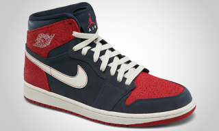 Air Jordan 1 Retro High: Obsidian/Sail-Gym Red