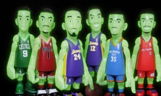 CoolRain x NBA Glow in the Dark Collectible Set by MINDstyle