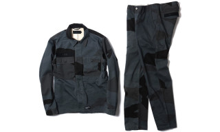 Maiden Noir for HAVEN Big Camo Service Shirt Jacket & Chinos