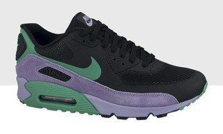 Nike Air Max 90 Premium Black/Stadium Green/Violet