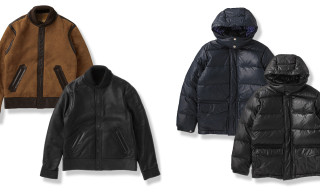Original Fake Leather Down Jacket & Mouton Varsity Jacket