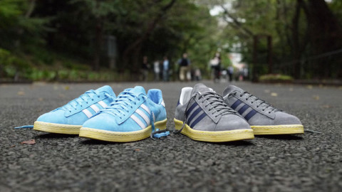 cheaper 69224 20b9b adidas Originals and Japans mita sneakers get together for the next round  of Campus 80s this month. Once again the two gave the iconic sneaker a  vintage ...