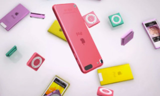 Apple Launches 'Bounce' Commercial for the New iPod Range