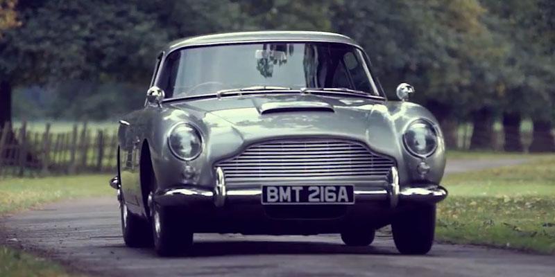 Video The Aston Martin Db5 James Bond S Favorite Car Highsnobiety