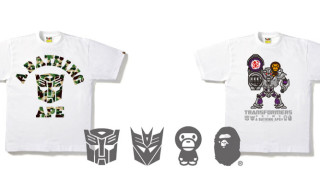 Bape x Transformers Prime Capsule Collection