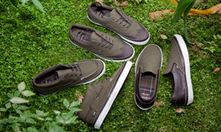 Vans California x Barbour Capsule Footwear Collection