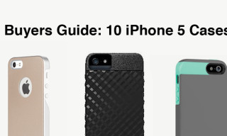 Buyers Guide: 10 New iPhone 5 Cases Available Now