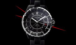 Chanel J12 GMT Matte Black
