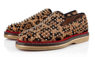 Christian Louboutin FRED AU 14 PRINTED PONY Slip-On