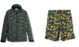 F.C.R.B. x mastermind JAPAN Camouflage Jacket & Shorts