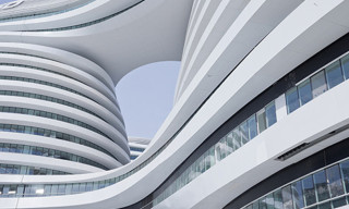 Galaxy Soho Building In Beijing China By Zaha Hadid