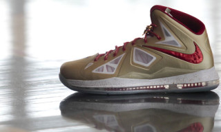 LeBron James Opens NBA Season in Gold Nike LeBron X