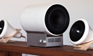 Joey Roth Adds Subwoofer to Ceramic Speaker Set