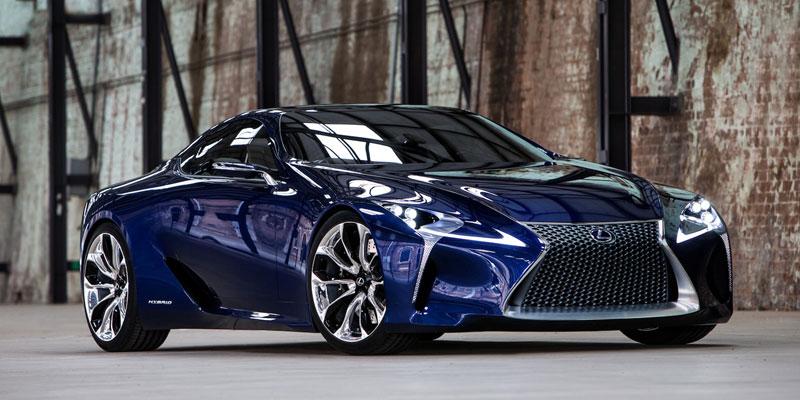 Lexus LF-LC Blue Hybrid Sports Car - Highsnobiety