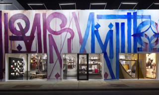 Making Of the Louis Vuitton Miami Design District Store Facade by RETNA