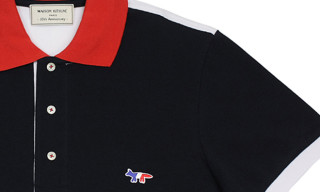 Maison Kitsuné 10th Anniversary Limited Edition Polo Shirt