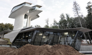Naomi Campbell's Spaceship House by Zaha Hadid