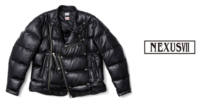 NEXUSVII Topflite Leather Riders Down Jacket | Highsnobiety