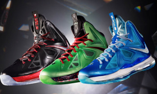 Nike Introduces the LeBron X in Three New Colorways