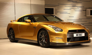 Usain Bolt and Nissan Collaborate on the GT-R