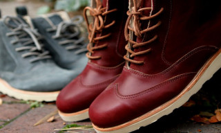Ronnie Fieg for Sebago Fall/Winter 2012 Seneca Boots & Bleeker Boots