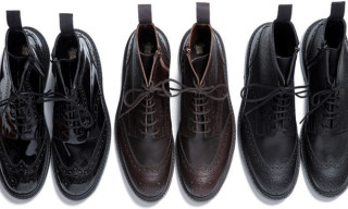 SOPHNET x Tricker's Wing Tip Boots Fall/Winter 2012