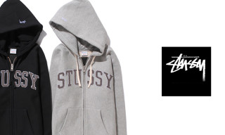 Stussy x Champion Gore-Windstopper College Arc Full Zip Hoodie