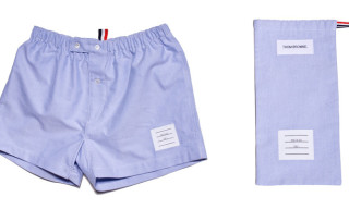 Thom Browne Oxford Boxer Shorts