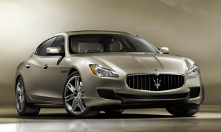 Maserati Unveils The All-New 2014 Quattroporte