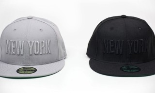 Ace Hotel New York x New Era Cap in Black & Grey