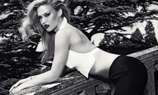 Bar Refaeli for German GQ Magazine December Issue