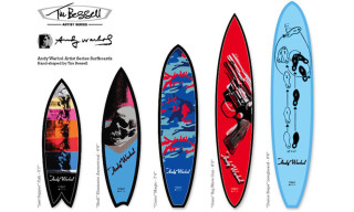 Bessell x Warhol Pop Art Surfboards