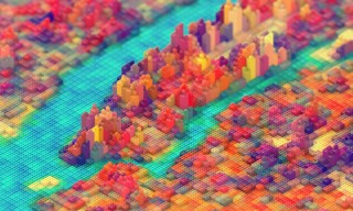 JR Schmidt Replicates New York City with Gorgeous LEGO Graphic