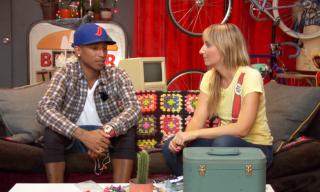 Video: Pharrell Makes Custom Headphones with Chrissie Miller
