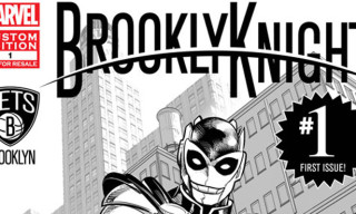 Marvel & the Brooklyn Nets Unveil First Super Hero in NBA History – BrooklyKnight