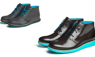 Cole Haan Waterproof & Reflective Cooper Square and Lunargrand Chukkas