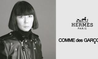 COMME des GARCONS x Hermès – Comme des Carrés Scarf Collection Announced
