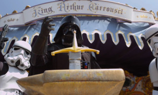 It Did Not Take Long – Darth Vader & Stormtroopers Visit Disneyland